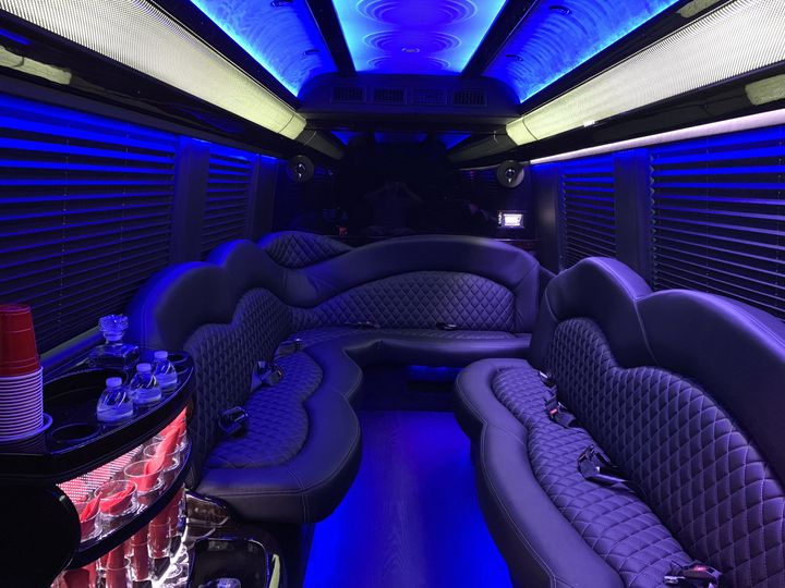 Sprinter luxury interior