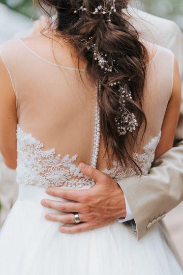 Beautiful sheer lace dress