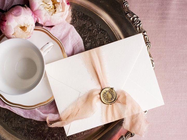 Tmx Wax Seal And Circle Tray 51 1311399 158249650610812 Alexandria, VA wedding invitation