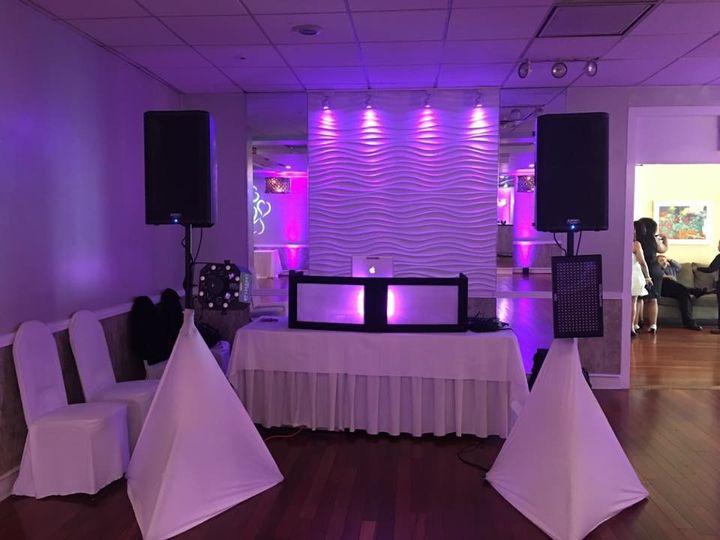 Booth setup and lighting