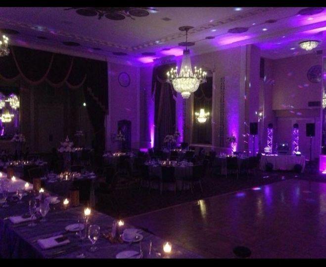 Musicbox EntertainmentWedding reception setup