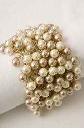 Grace Pear Bauble Bracelet - $89.00 Fabulous on a stylish bride!  This bracelet is all about...