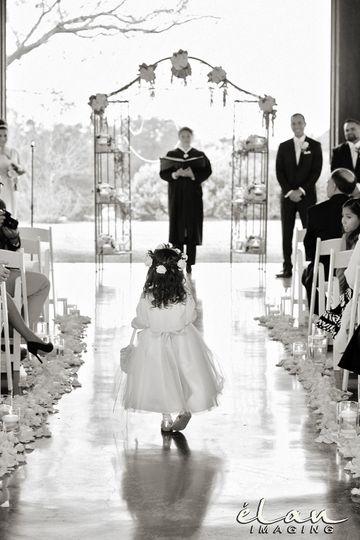 ceremony flowergirl