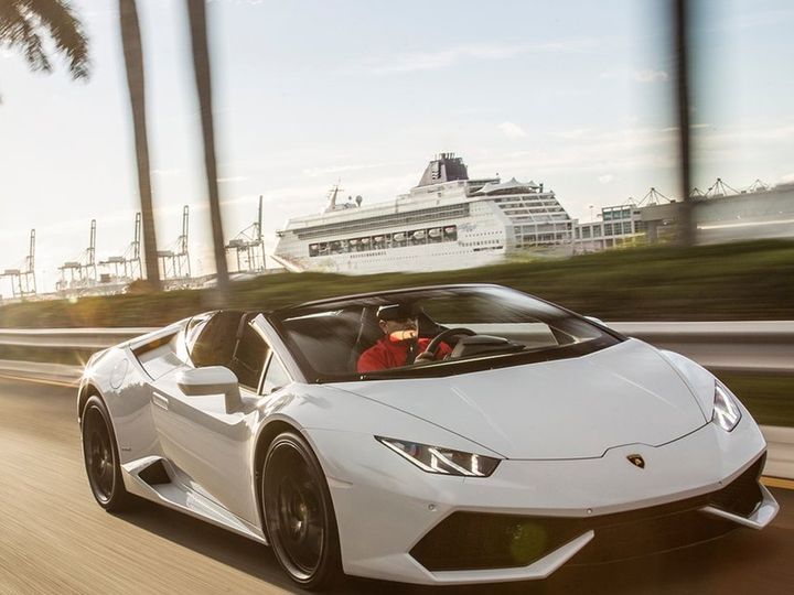 Tmx Lamborghini Huracan Spyder Convertible Rental Ecro Texas Houston Dallas Austin San Antonio Louisanna 1 51 1053399 Houston, TX wedding transportation