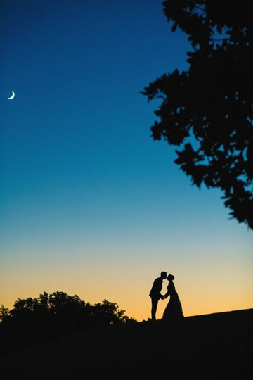 Wedding Day Silhouette