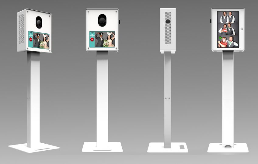 Photo booth machine