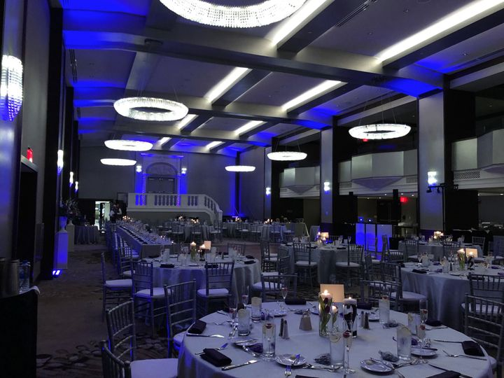 Uplighting at the Westin