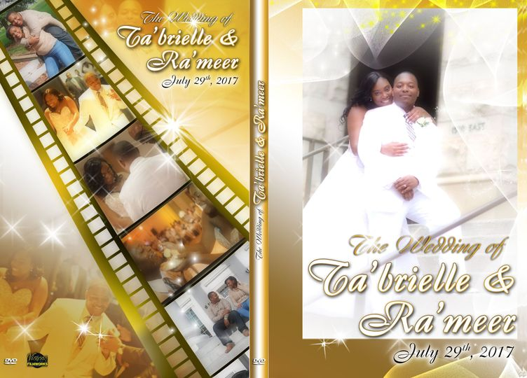 DVD Cover for Robert's Wedding