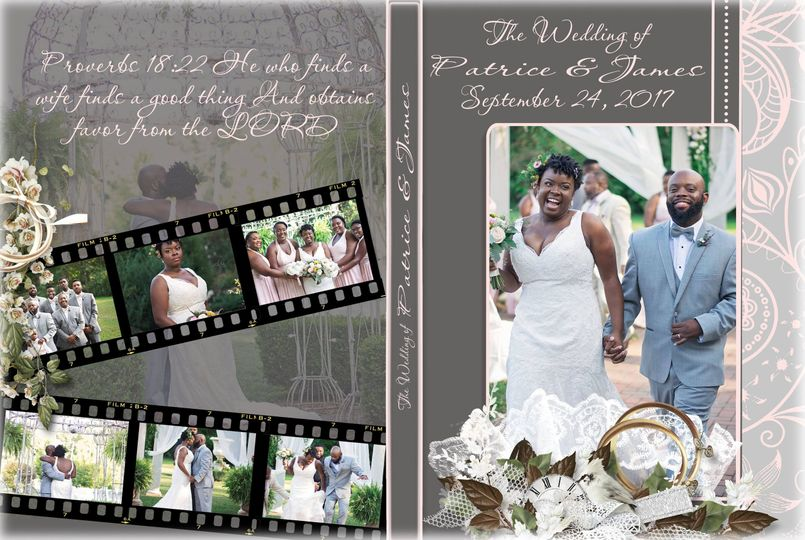 DVD Cover The Woodards Wedding