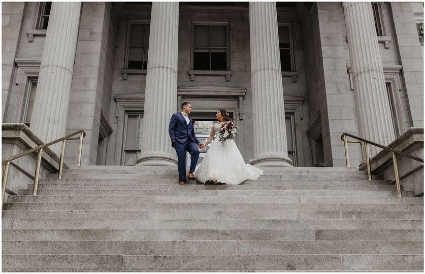 The newlyweds | Photo: Jessie Walker