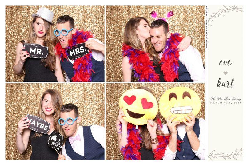 sweet booths sample photo emoji