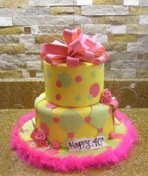 Tmx 1222456020511 AMNbrightcake Oviedo wedding cake