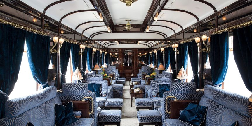 Luxury train experience