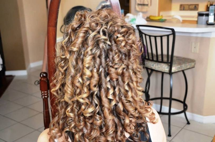 A. Collins wedding hairstyle