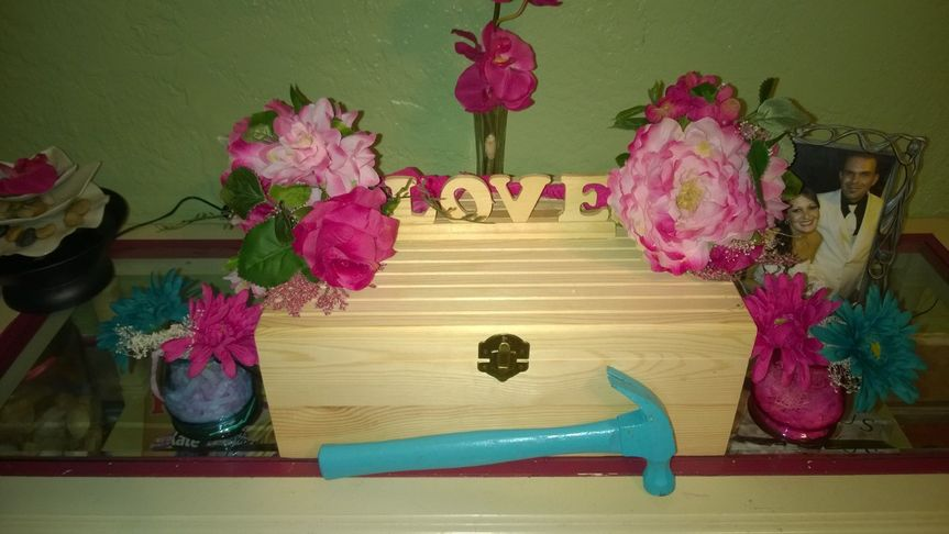Love Box Unity: Made by Aimee Cleland  This love box was personally designed for a wedding we...