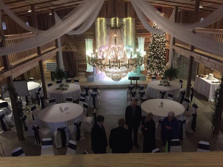 Wedding event setup