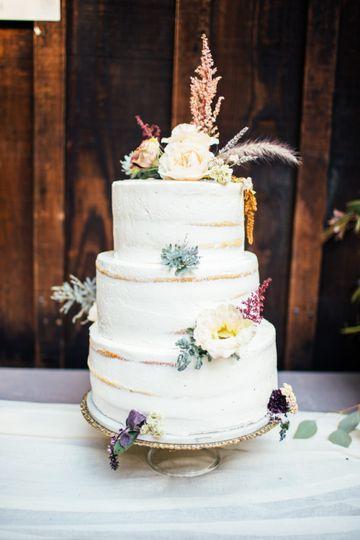 Wedding cake by Jamie