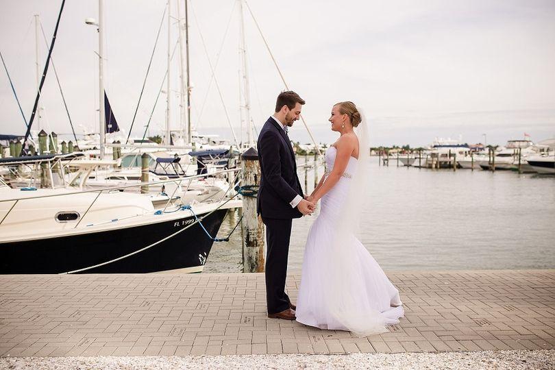 Boardwalk couple