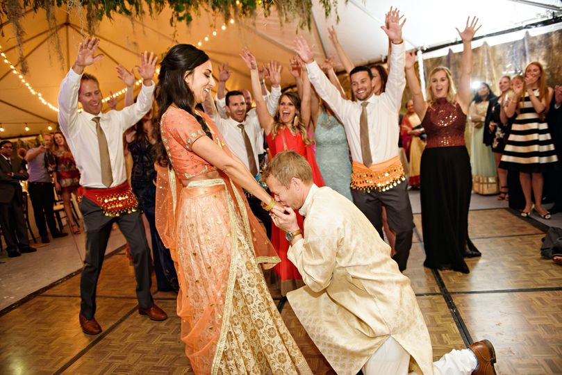 Indian Wedding Party Dance