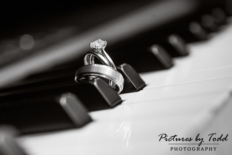 Rings on the piano