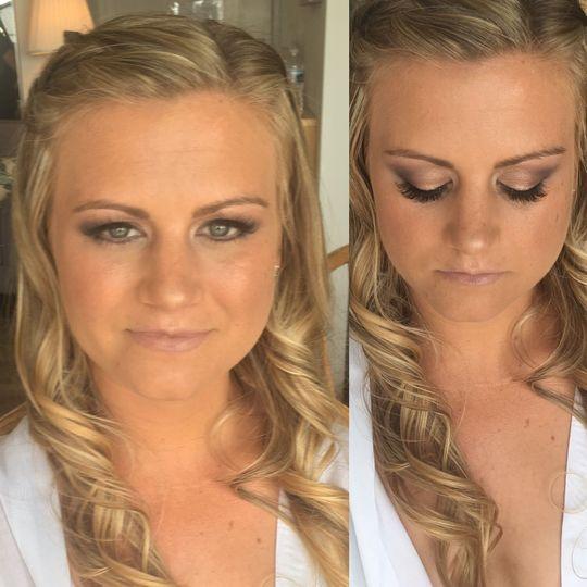 Soft, natural makeup