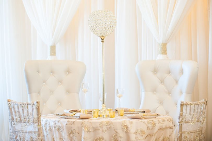 Sweethearts' table