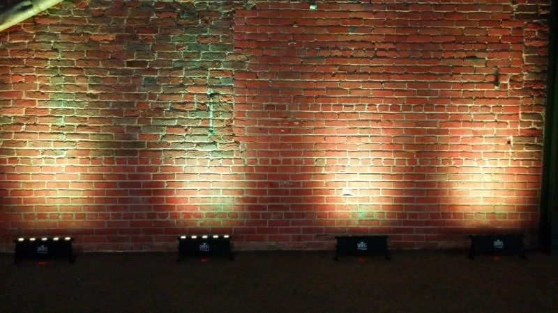 UP Lighting - Wall Wash Professional & Customizable