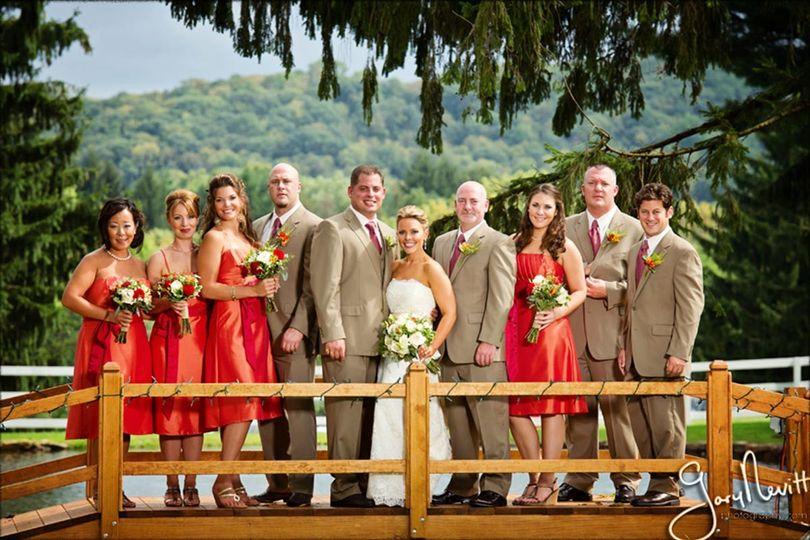 Ashton Farm: Bridal on Bridge