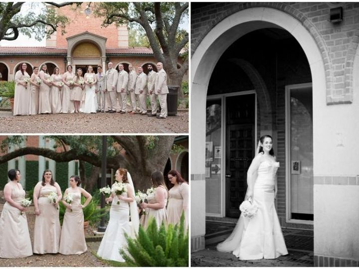 Tmx 1446655280403 Claire And Johnny6 Houston, TX wedding florist