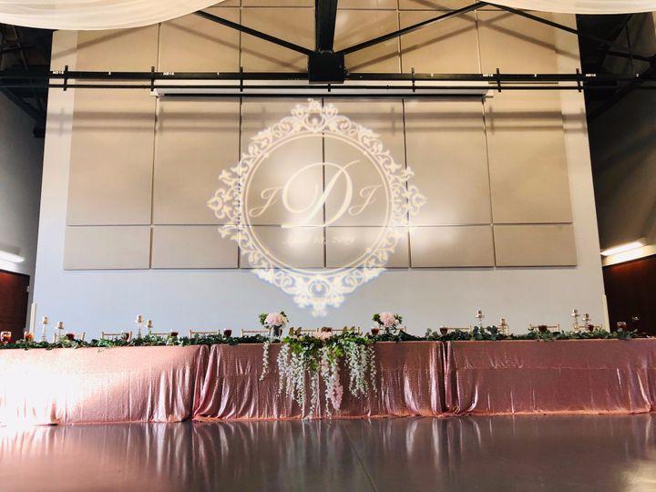 Reception Head Table