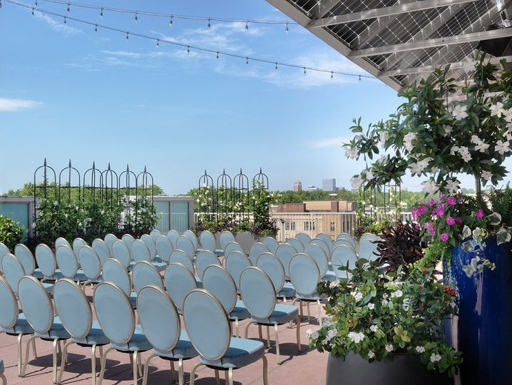 Wedding Ceremony - roof garden