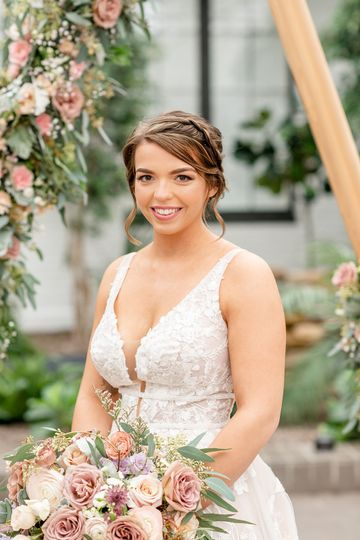 Beautiful bride - Hair and Makeup by Veronica