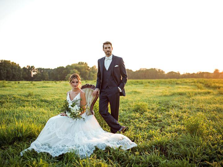 Tmx Dark Grey In Field 51 385499 Scranton wedding dress