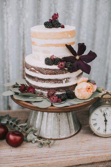 Fresh looking cake