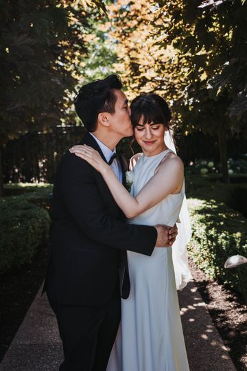 Happy bride, Lisa Tune photo