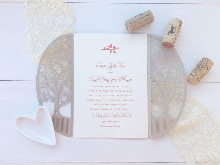 jsd carlson crat laser cut rustic wedding invitati
