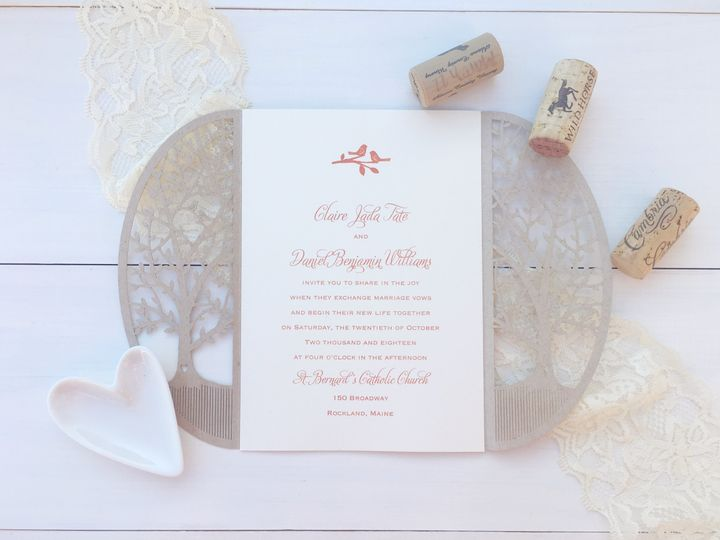 Tmx 1493299111025 Jsd Carlson Crat Laser Cut Rustic Wedding Invitati Hanover wedding invitation