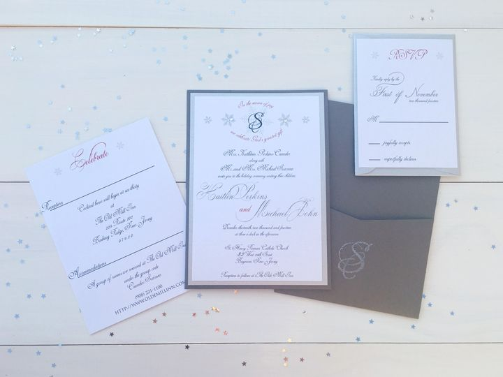 Tmx 1493299402962 Jsd Silver Wedding Invitation Hanover wedding invitation