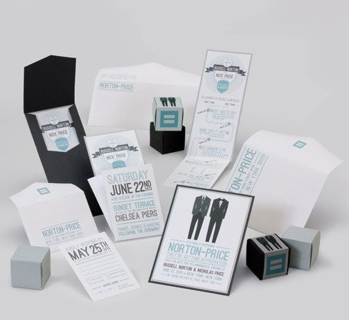 Tmx 1493299543228 Jsd E Black Blue Groom Gay Couple Modern Wedding I Hanover wedding invitation