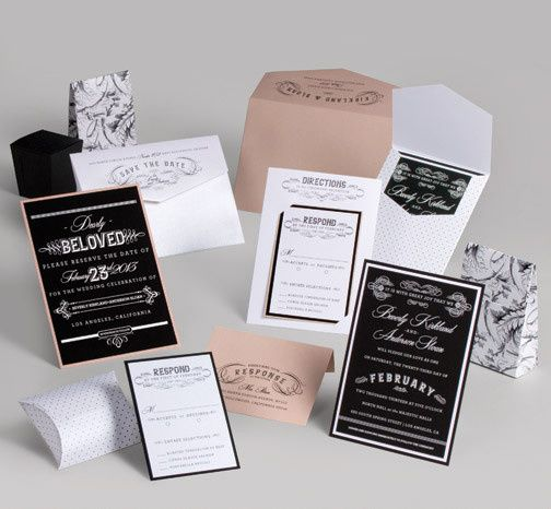Tmx 1493299558980 Jsd E Black White Modern Classic Wedding Invitatio Hanover wedding invitation