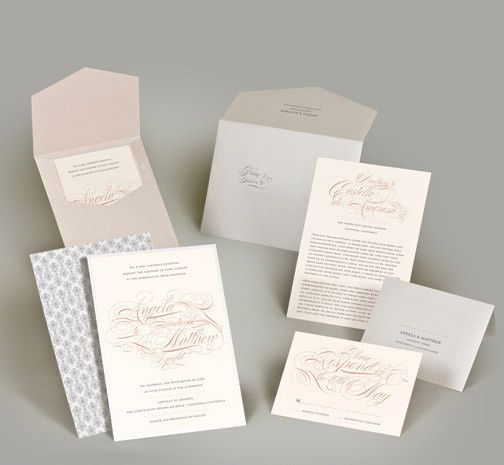 Tmx 1493299673568 Jsd E Flourish Script Elegant Wedding Invitation Hanover wedding invitation