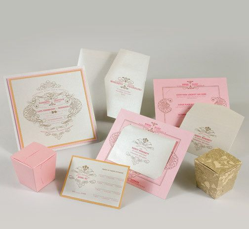 Tmx 1493299731636 Jsd E Pink Orange Gold Elegant Square Wedding Invi Hanover wedding invitation