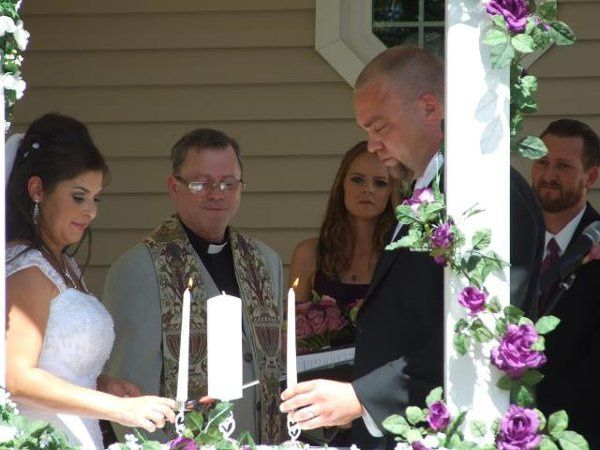 Candle ceremonies outdoors can be very unpredictable