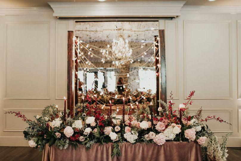 A beautiful arrangement of flowers