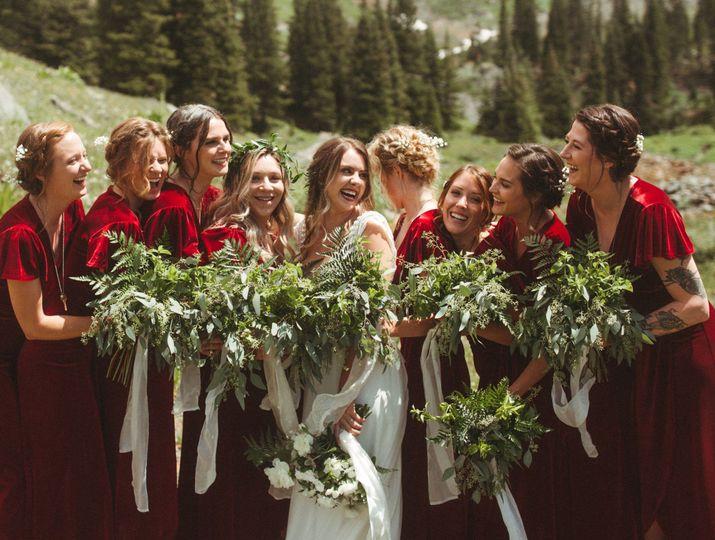 July wedding in Telluride