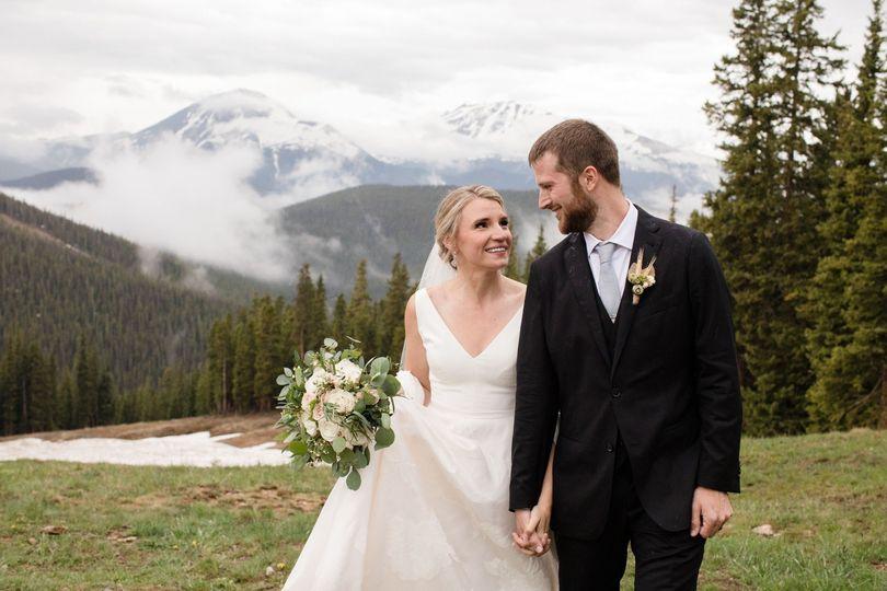 June wedding in Keystone