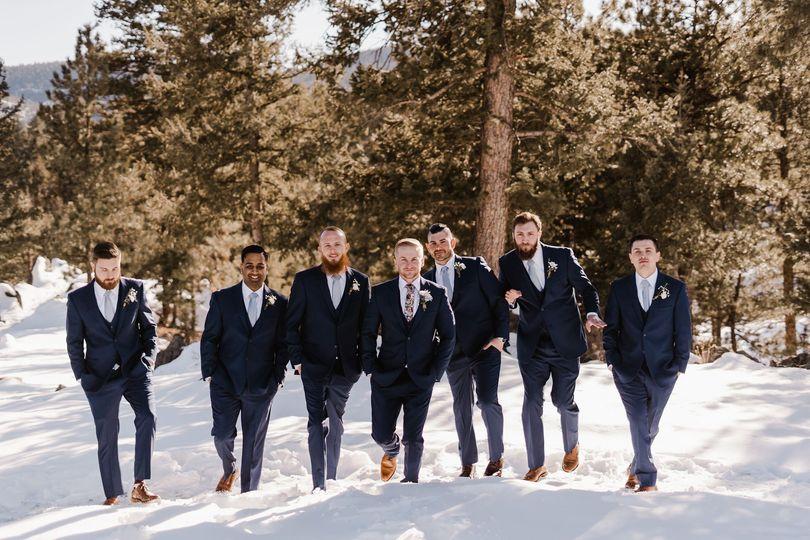 February wedding in Golden