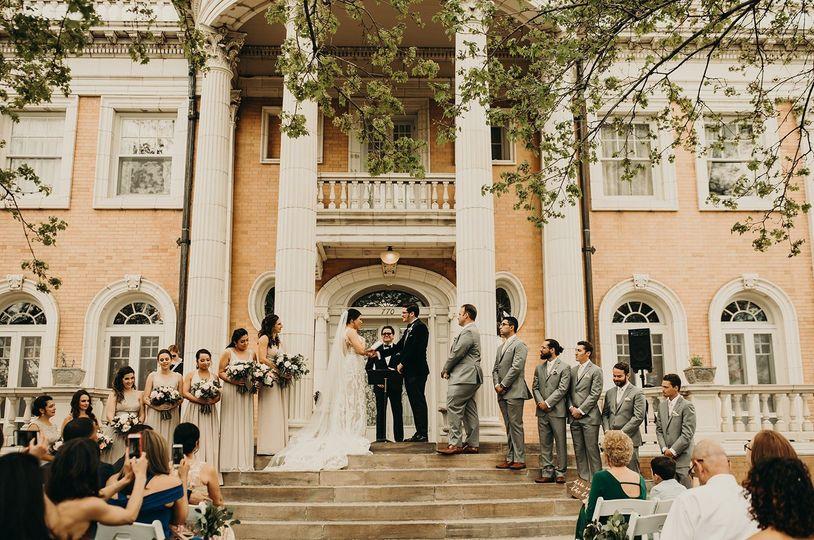 April Wedding in Denver