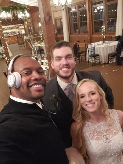 336djs wedding reception