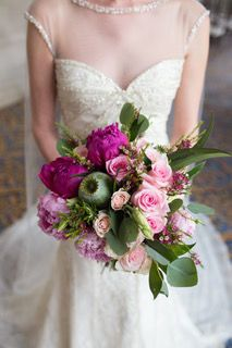 Pink and purple flower | Melanie Grady Photography